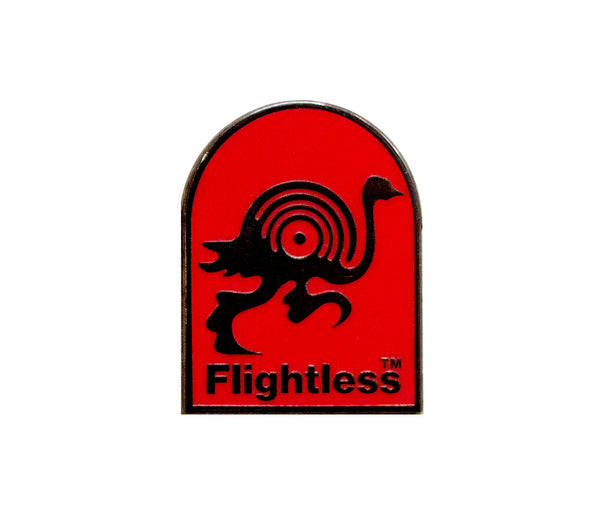 Flightless Records - Lapel Pin