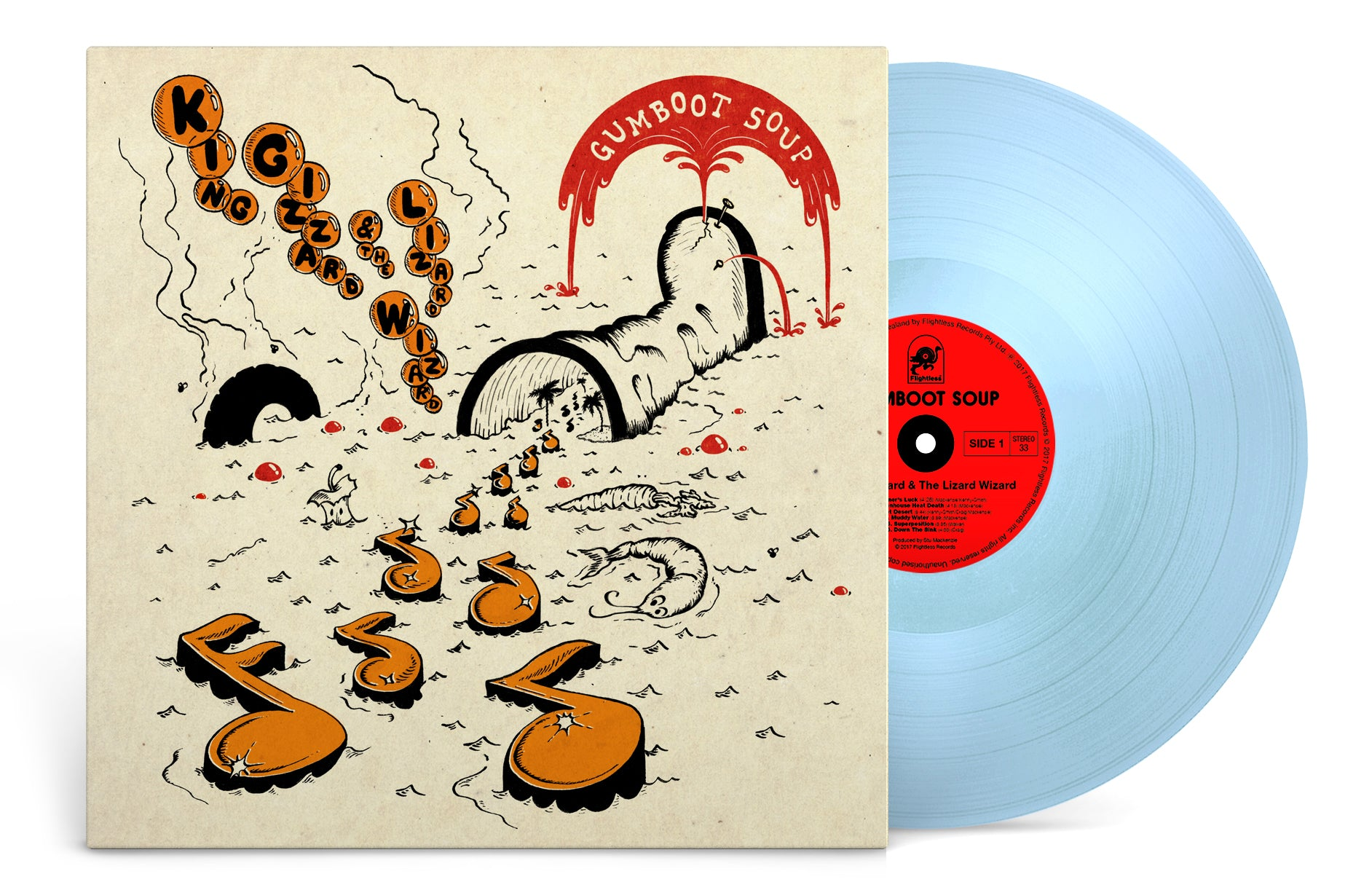 King Gizzard & The Lizard Wizard - Gumboot Soup (Baby Blue Wax Limited Edition)