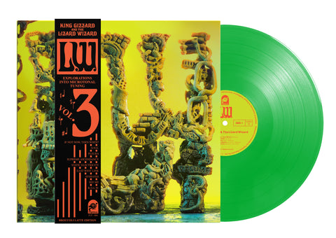 King Gizzard & The Lizard Wizard - 'L.W.' (Broccoli Latte Limited Edition PRE~ORDER)