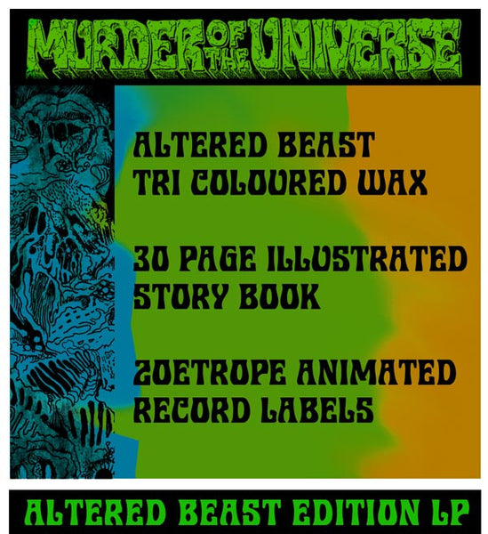 King Gizzard & The Lizard Wizard - Murder Of The Universe (Altered Beast Edition) PRE-ORDER