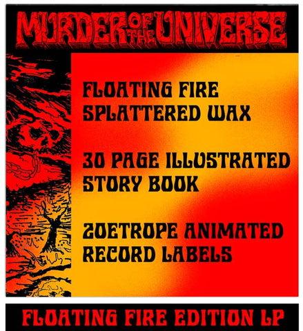 King Gizzard & The Lizard Wizard - Murder Of The Universe - (Floating Fire Edition) PRE-ORDER