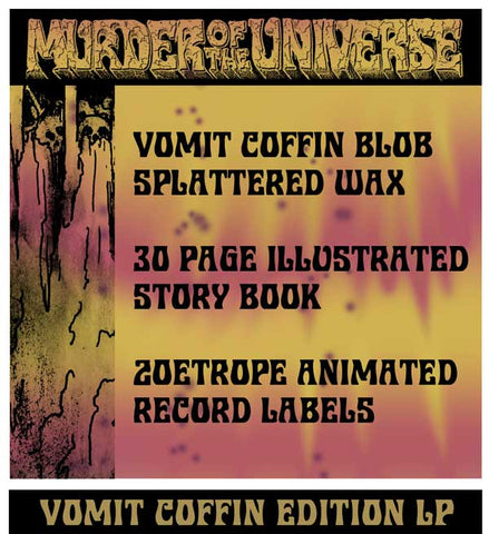 King Gizzard & The Lizard Wizard - Murder Of The Universe - (Vomit Coffin Edition) PRE-ORDER