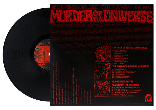 King Gizzard & The Lizard Wizard - Murder Of The Universe (Black Wax)