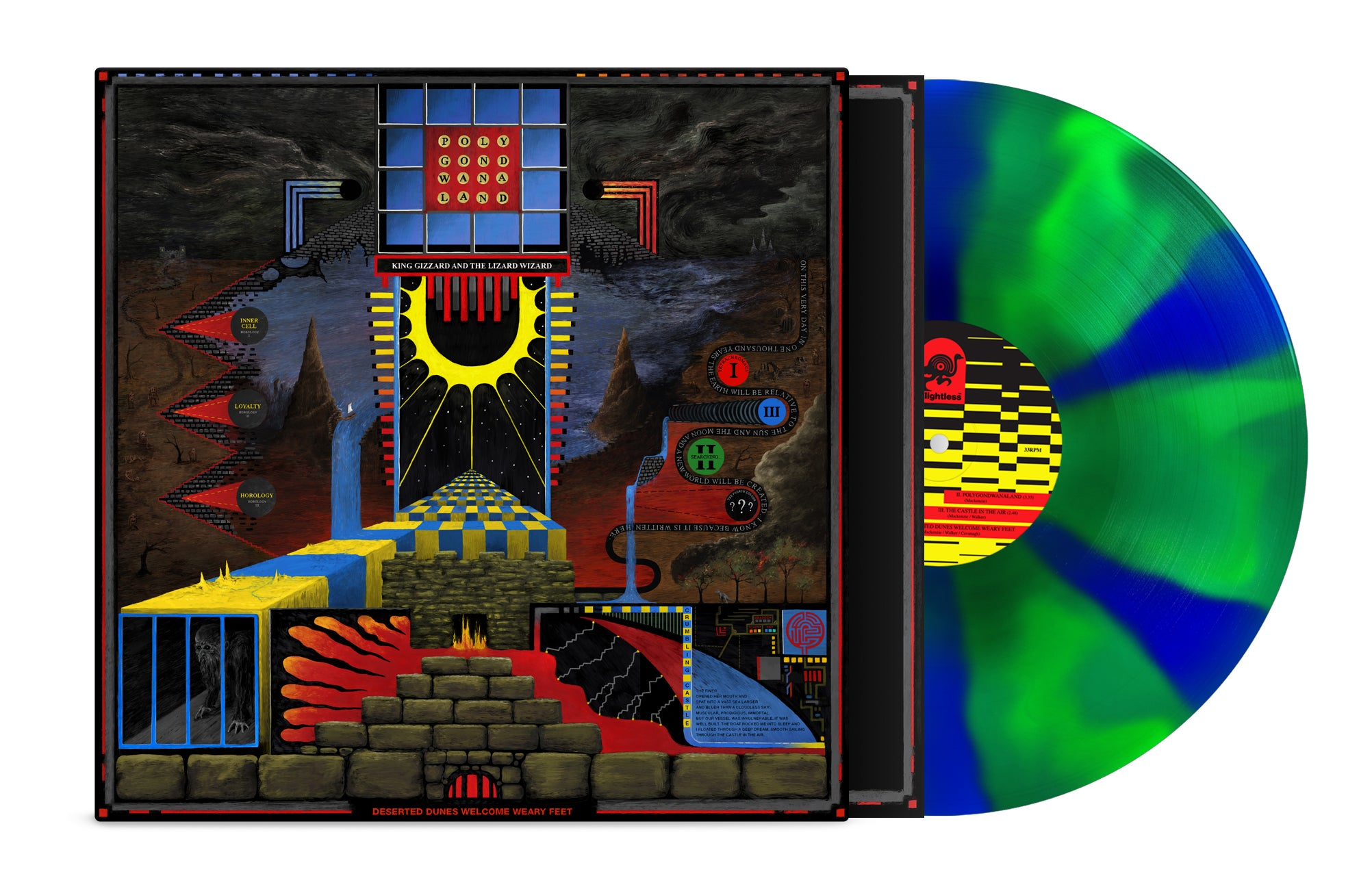 King Gizzard & The Lizard Wizard - Polygondwanaland LP