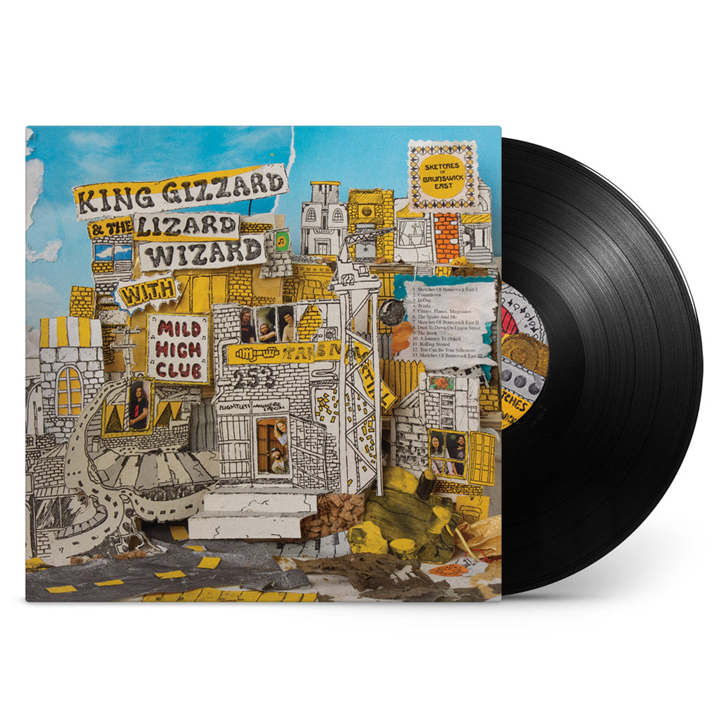 King Gizzard & The Lizard Wizard with Mild High Club - Sketches Of Brunswick East (Black Vinyl 200 gram) PRE-ORDER