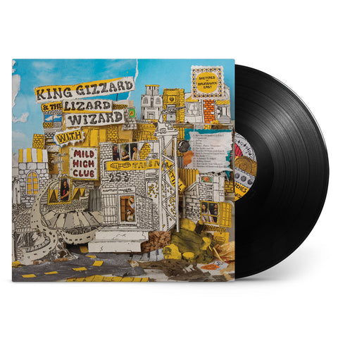 King Gizzard & The Lizard Wizard with Mild High Club - Sketches Of Brunswick East (Black Vinyl 200 gram)
