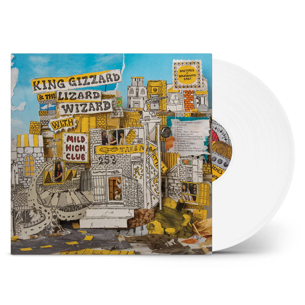 King Gizzard & The Lizard Wizard with Mild High Club - Sketches Of Brunswick East (White Vinyl 200 gram)