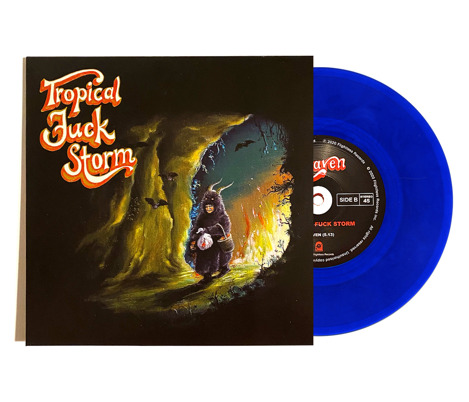 Tropical Fuck Storm - Legal Ghost 7""