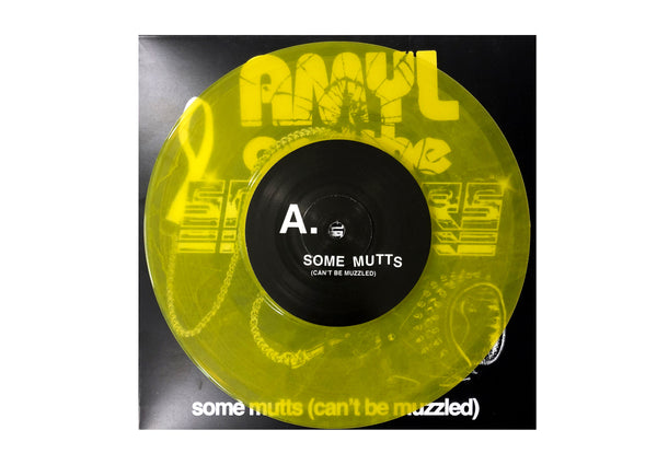 "Amyl and The Sniffers - Some Mutts (Can't Be Muzzled) 7"" (Yellow Edition)"