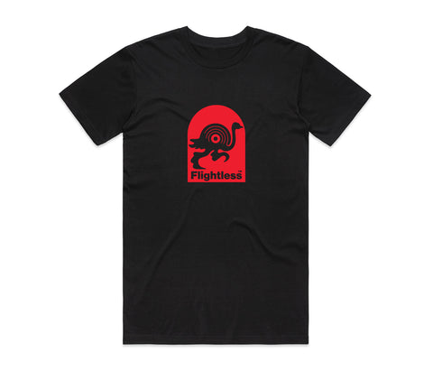 Flightless Records - Logo T-Shirt Black