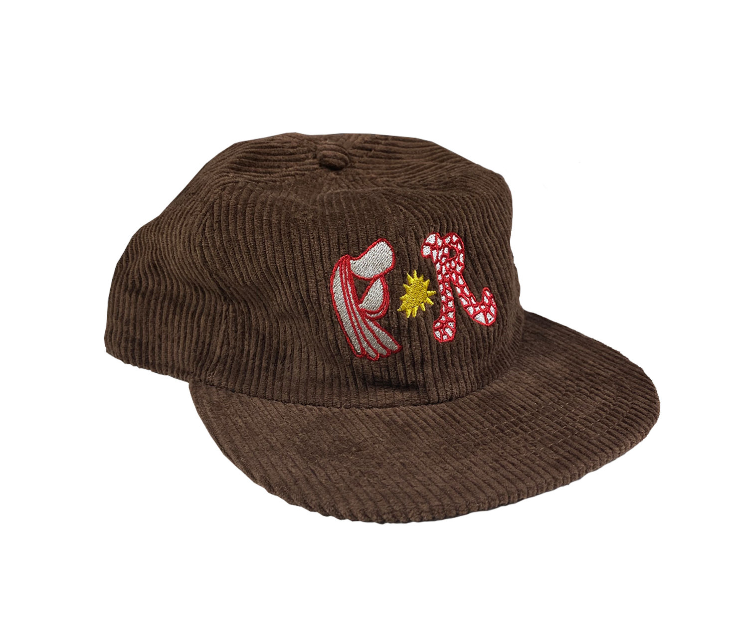 Flightless Records - Brown FR logo Cord Cap (Limited Edition)