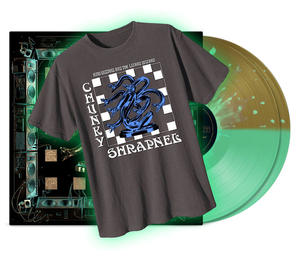 King Gizzard & The Lizard Wizard - Chunky Shrapnel T~Shirt Bundle (Metal Dioxide)