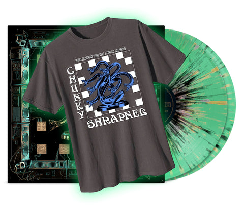 King Gizzard & The Lizard Wizard - Chunky Shrapnel T~Shirt Bundle (Acid Rain Edition)