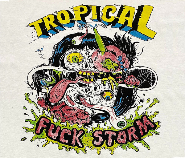 Tropical Fuck Storm - Face Melt Colour T~Shirt
