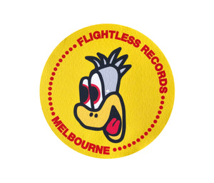 Flightless Records - Emu Head Slipmat