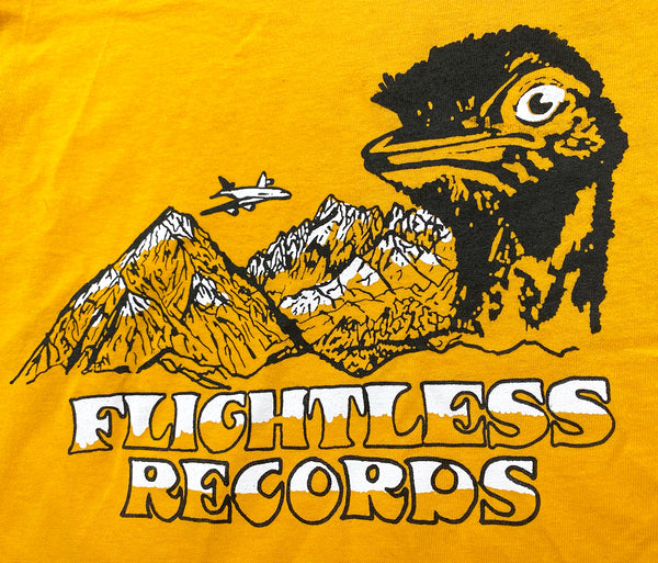 Flightless Records - Emu Mountain T-shirt