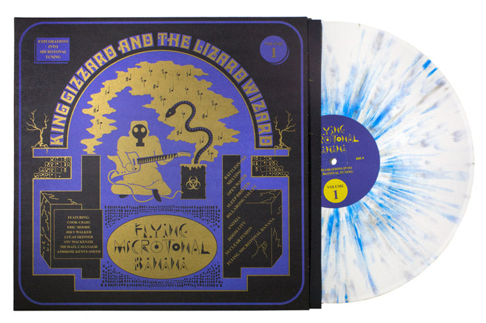 King Gizzard & The Lizard Wizard - Flying Microtonal Banana (Reptilian Poison Wax Edition)