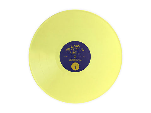 King Gizzard & The Lizard Wizard - Flying Microtonal Banana ALTERNATE COVER LP w/ Banana Wax #3