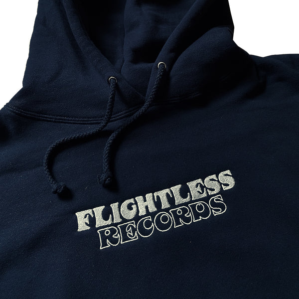 Flightless Records - Deluxe Embroidered Hood
