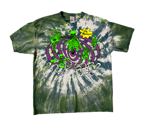 The Murlocs - Limited Edition Loophole Bong Vortex Tie Dye T