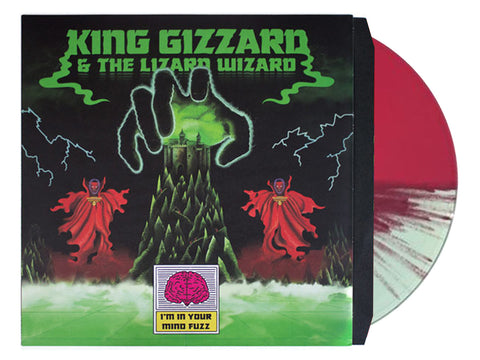 King Gizzard & The Lizard Wizard - I'm In Your Mind Fuzz (Castle Face split colour pressing)