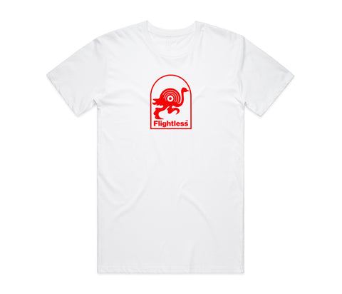 Flightless Records - Logo T-Shirt White