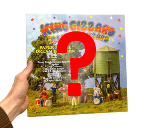 King Gizzard & the Lizard Wizard - Paper Mâché Dream Balloon (Mystery colour wax)