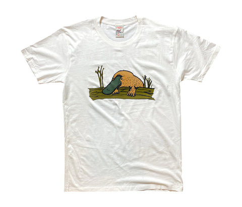 Flightless Records - Organic Platypus T~Shirt (Limited Edition)