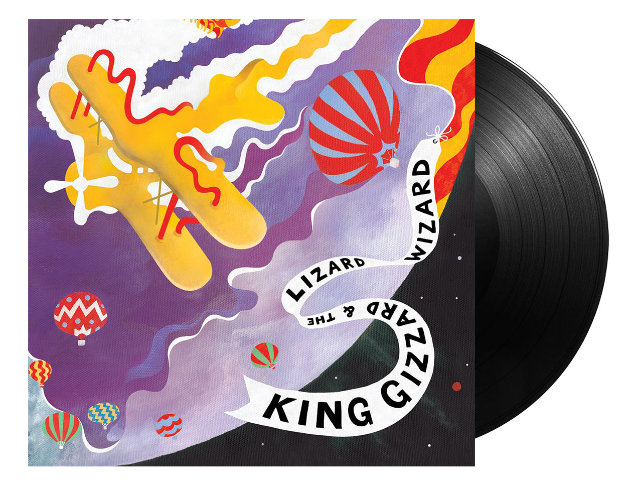 King Gizzard & The Lizard Wizard - Quarters (Castle Face black wax Edition)