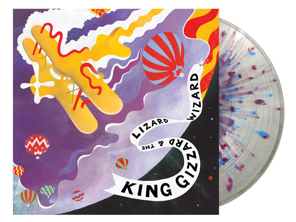 King Gizzard & The Lizard Wizard - Quarters (Castle Face splatter wax Edition)