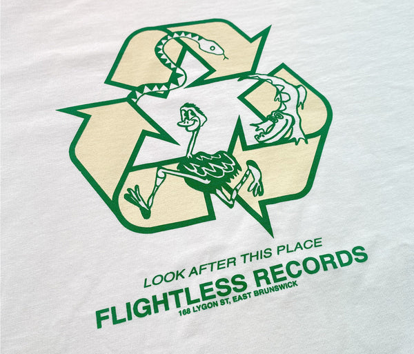 Flightless Records - Recycle Organic T-shirt