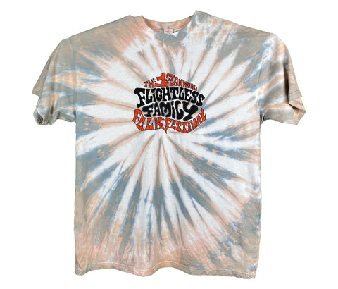Flightless Records - 1st Flightless Family Folk Fest ~ Tie Dye T
