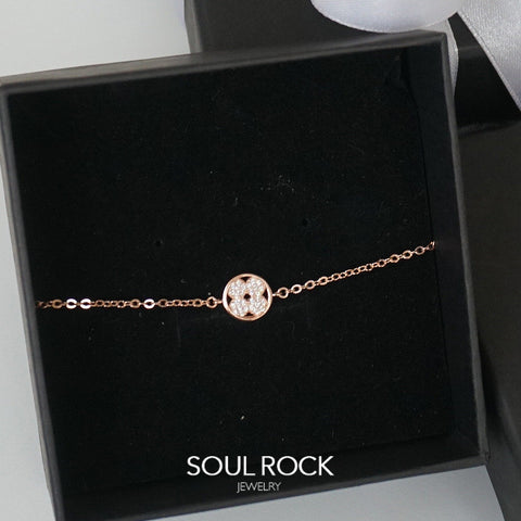 925 wheel of luck bracelet