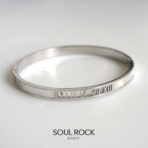 Livia titanium bangle