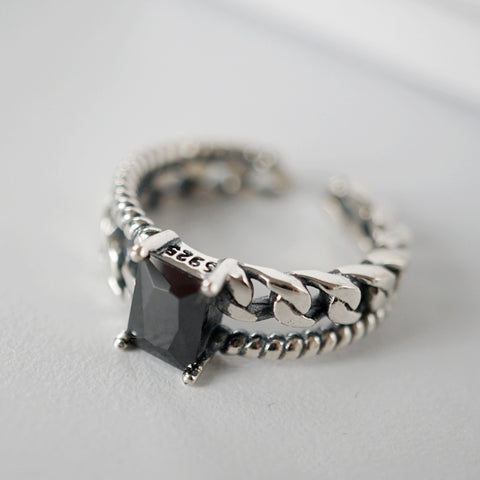 vintage braided ring