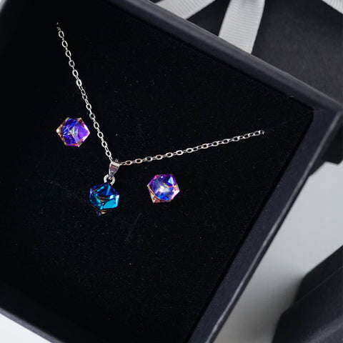 crystal cube set