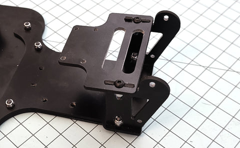 Slash 2WD Street Eliminator Mid motor bar mount