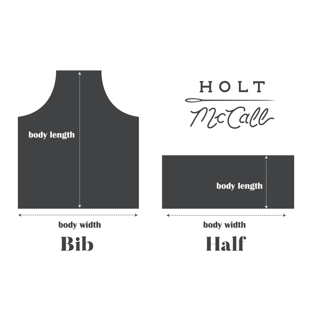 holt mccall how to measure an apron
