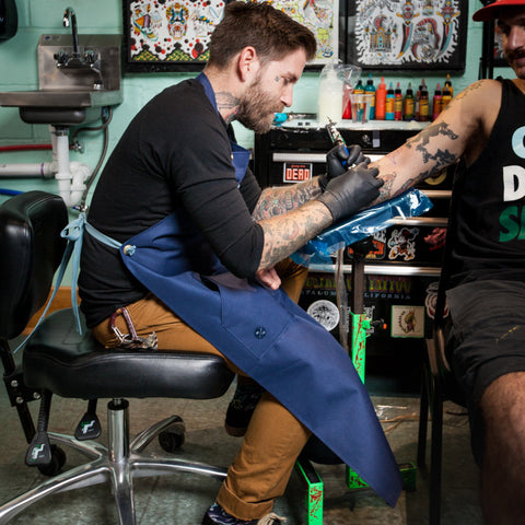 The Kenny, Tattoo Artist's Bib Apron
