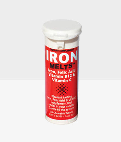 Iron Melts™ Iron and Folic acid supplement