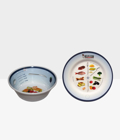 Weight Loss Surgery Plate & Portion Bowl