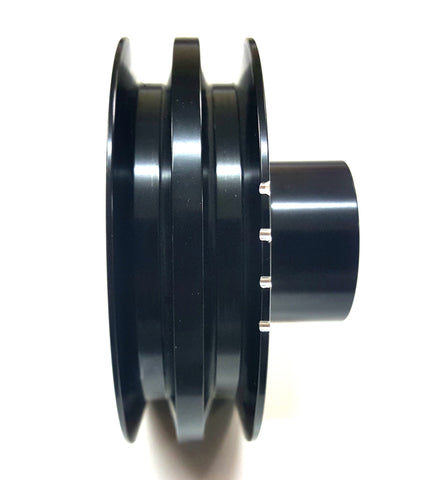 Mazda RX2, RX3, RX4, RX7 and Cosmo power pulley for the 12A, 13B and 20B