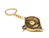 Rotary Key Ring Gold