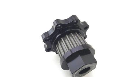 Billet Fuel / Oil pump Mandrel with Large Hex Head