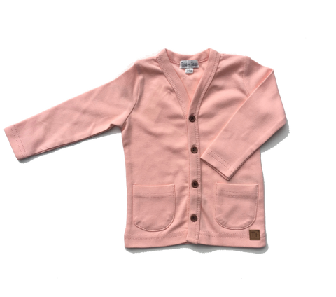 Knit Cardigan - Light Pink