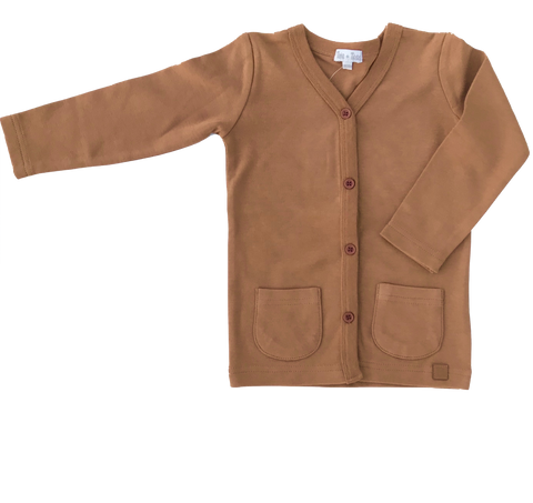 Knit Cardigan - Camel