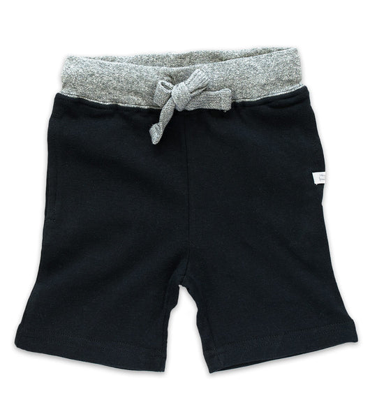 Shorts - Black  & Heather Gray
