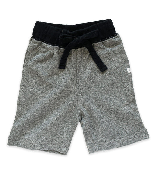 Shorts - Heather Gray & Black