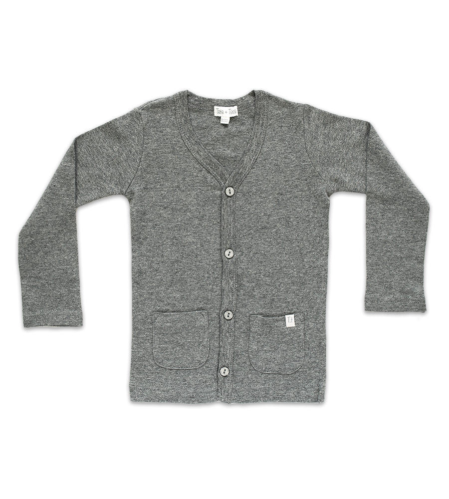 Cardigan - Heather Gray