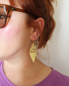 Riots Not Diets Earrings